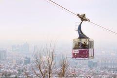 Kok-tobe mount in Almaty, Kazakhstan Royalty Free Stock Photography