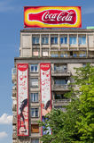 Koka-kola budynek Fotografia Royalty Free