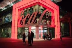 koka-kola sklep przy Disney wiosnami przy Walt Disney światem Zdjęcie Stock