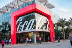 koka-kola sklep przy Disney wiosnami przy Walt Disney światem Fotografia Royalty Free