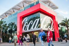 koka-kola sklep przy Disney wiosnami przy Walt Disney światem Zdjęcia Royalty Free