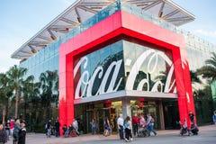 koka-kola sklep przy Disney wiosnami przy Walt Disney światem Obraz Stock