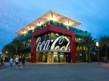 koka-kola sklep w Disney wiosnach Zdjęcia Stock