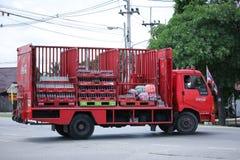 Koka-koli ciężarówka, Koksowniczy produkt Fotografia Royalty Free
