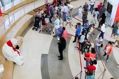 Koka-koli muzeum w Atlanta, dziąsła Zdjęcie Royalty Free