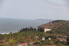 Kokan - море с горной областью Стоковое Изображение RF