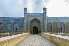 Kokand Khudoyar Khan Palace 02 royaltyfri bild