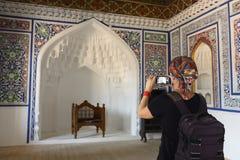 Kokand, Usbequistão, rota de seda imagens de stock