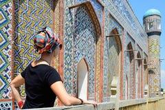 Kokand, Usbequistão, rota de seda foto de stock royalty free