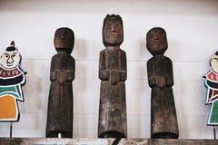 KOKDU Kokdu ist traditionelle hölzerne Figürchen lizenzfreies stockfoto