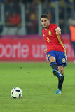 Koke. Jorge Resurreccion Merodio Koke midfielder of the Spanish National Football Team, pictured during the friendly match between Romania and Spain, played at royalty free stock image