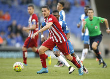 Koke Resurreccion Atletico Madryt Fotografia Royalty Free