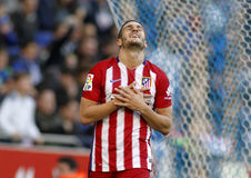 Koke Resurreccion d'Atletico Madrid Photo stock