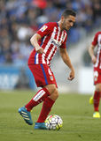 Koke Resurreccion di Atletico Madrid Fotografie Stock