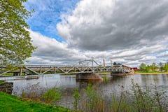 Kokemanjoki river in Pori, Finland Stock Image