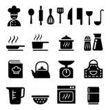 Kokend pictogram Stock Afbeeldingen