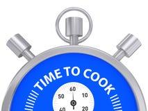 Kokende grafische chronometer Royalty-vrije Stock Foto's