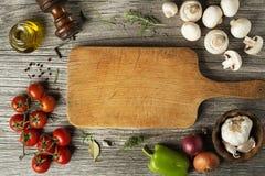 Kokende groente royalty-vrije stock fotografie