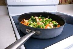 Kokende groenten Stock Fotografie