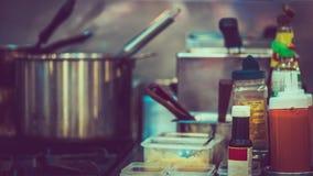 Kokende het Voedselvoorbereiding van de Warenkeuken royalty-vrije stock foto