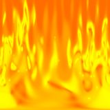 Kokende Lava Stock Afbeelding