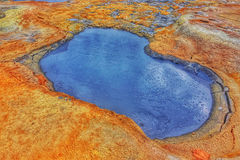 Kokende Modder op het Geothermische Gebied van Namafjall, Hverir, IJsland Royalty-vrije Stock Fotografie