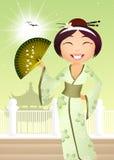 Kokeshi docka Royaltyfri Bild