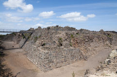 Kokhav haYarden, Belvoir Fortress. Kokhav haYarden, Ancient Crusader castle Royalty Free Stock Images