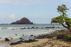 Koki Beach på vägen till Hana Royaltyfria Foton