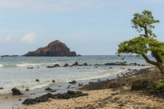 Koki Beach on Road to Hana Royalty Free Stock Photos