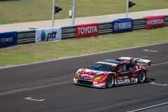 Koki Saga of apr in GT300 Qualiflying Category at 2015 AUTOBACS Stock Image