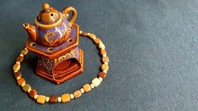 Kokkärl av aromlampan Royaltyfri Fotografi