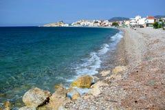 Kokkari Bay. Samos Island. Greece Royalty Free Stock Image