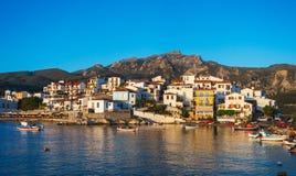 Kokkari, Samos, Grecia immagini stock libere da diritti