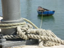 Kokkel-boot stock afbeelding