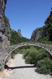 Kokkori old stone bridge Zagoria. Greece Stock Photography