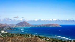 Koko Crater, ahu do ` de O, Havaí fotografia de stock royalty free