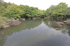 Koko en庭院在姬路,兵库县,日本 库存照片