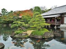 Koko-en Garden in Himeji, Hyogo Prefecture, Japan. Stock Image