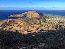 Koko Head Hawaii fotografie stock libere da diritti