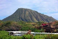 Koko Krater, Oahu, Hawaii Lizenzfreies Stockbild