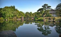 Kokoen庭院 免版税图库摄影
