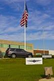 Kokomo -大约2015年11月:克莱斯勒传输厂 菲亚特克莱斯勒汽车是第七大汽车制造商在世界上 免版税库存照片