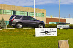 Kokomo - cerca do novembro de 2015: Planta da transmissão de Chrysler Os automóveis de Fiat Chrysler são o sétimo-grande fabrican fotos de stock royalty free