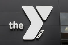 Kokomo - Circa April 2017: Downtown YMCA. The YMCA works to bring social justice to young people and their communities IV. Downtown YMCA. The YMCA works to bring Royalty Free Stock Images