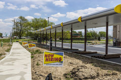 Kokomo - Circa April 2017: Sonic Drive-In Fast Food Location Under Construction. Sonic is a Drive-In Restaurant Chain VI. Sonic Drive-In Fast Food Location Under Stock Images