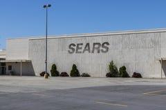 Kokomo - Circa May 2017: Recently shuttered Sears Retail Mall Location XI Royalty Free Stock Images
