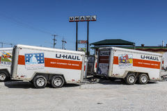 Kokomo - Circa May 2017: U-Haul Moving Truck Rental Location. U-Haul offers moving and storage solutions III. U-Haul Moving Truck Rental Location. U-Haul offers Royalty Free Stock Photography