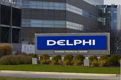 Kokomo - Circa November 2015: Delphi Automotive CTC Building. Delphi is a leading global supplier of automotive technologies II Royalty Free Stock Photography
