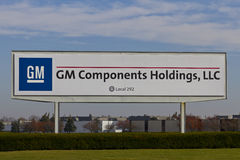 Kokomo - Circa November 2015: GM Components Holdings. GMCH is a supplier of leading electronics manufacturing services I Royalty Free Stock Image
